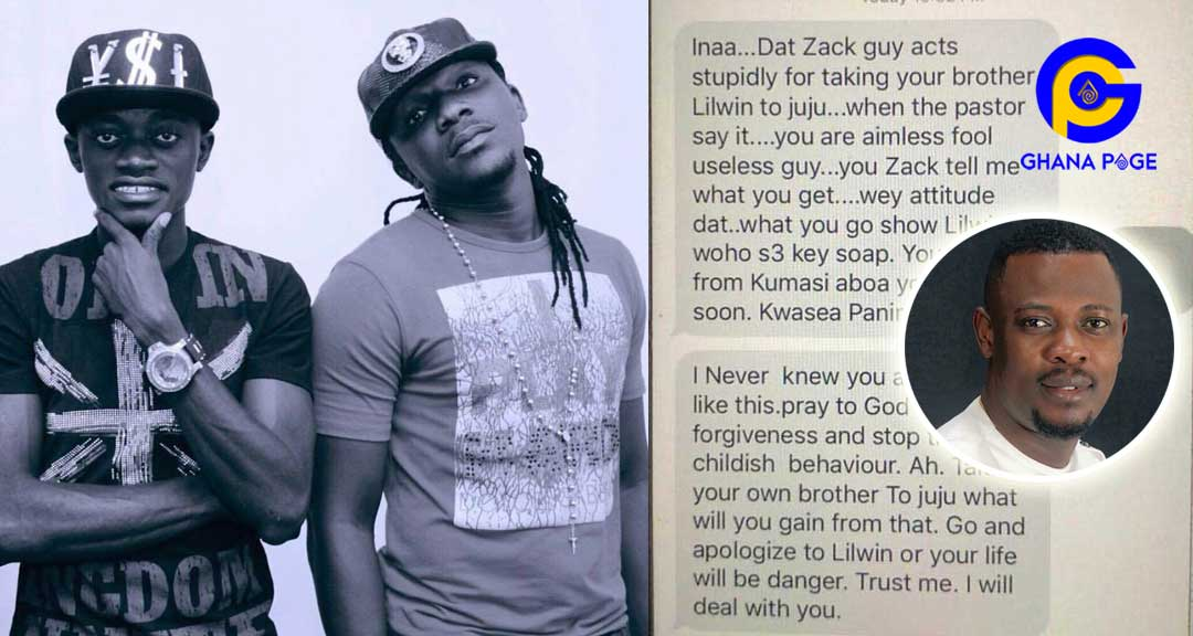 Prophet Nigel Gaisie Lilwin Zack - Lilwin's fmr manager receives death threats after Nigel's padlock prophecy