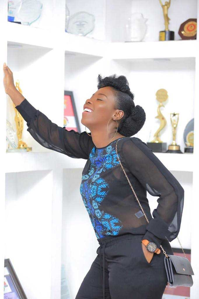 Ruth Oti Roototi 6 - Meet Ruth Oti aka Roototi the beautiful and eloquent young lady who played the role of 'SADIA' in TV3's Ghanaian drama series