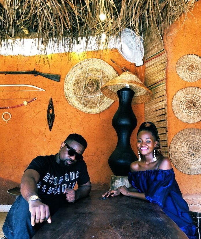 Sarkodie and Hammamat - Sarkodie spotted without his wedding ring sparks rumours