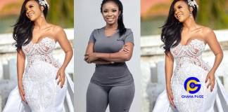 Who wants to marry me for their son?- Serwaa Amihere asks as she drops stunning wedding photo