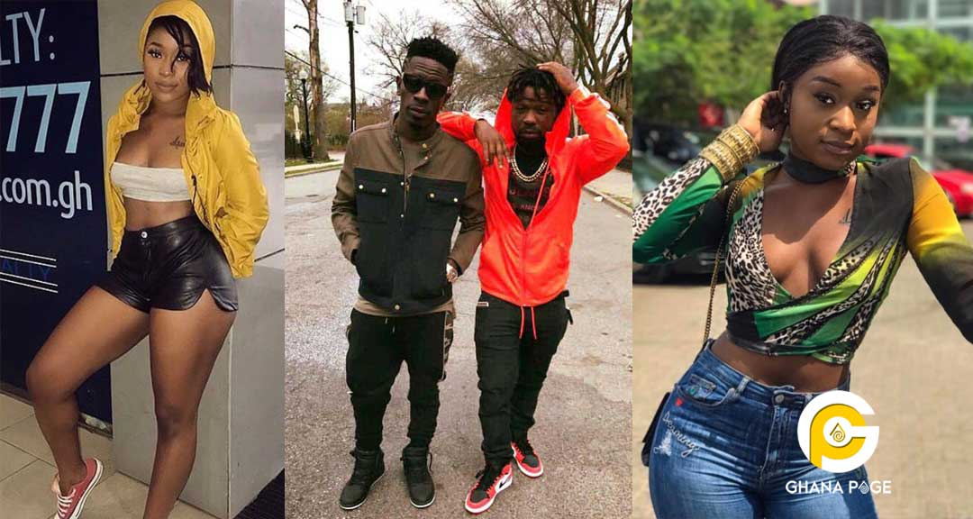 Shatta Wale Junior US Efia Odo - 3Some with Shatta Wale and Junior US; Efia Odo vanishes from Instagram