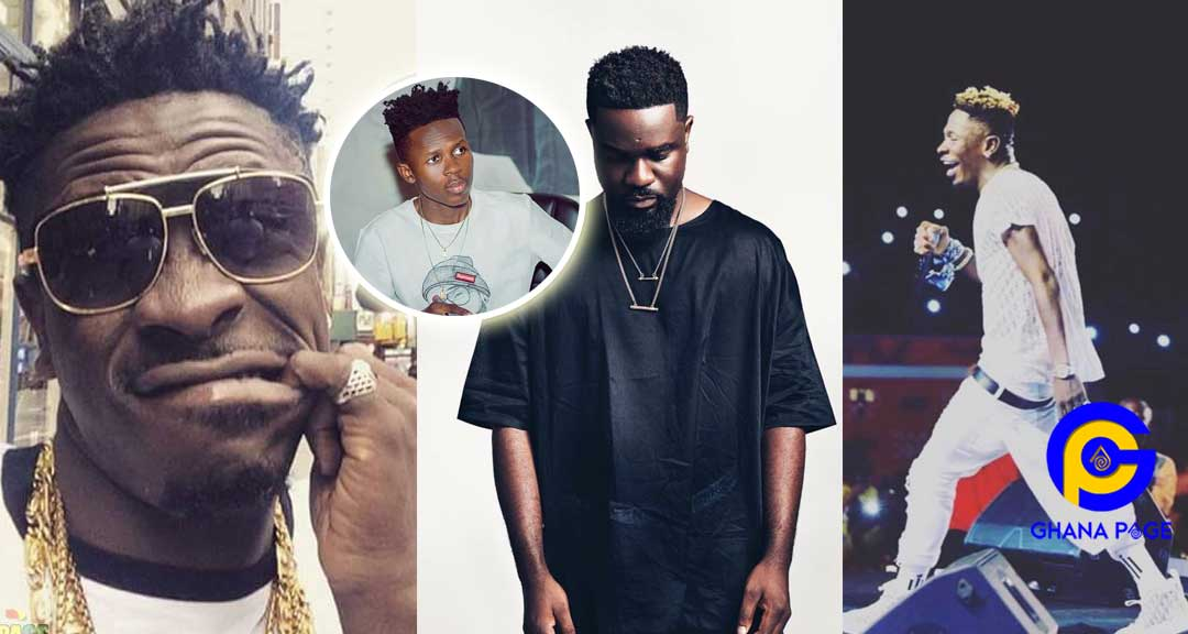 Shatta Wale Shatta Strongman - Shatta Wale mocks Sarkodie after he failed to extend Strongman's contract