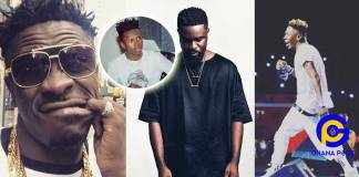 'N*gga you are broke'- Shatta Wale mocks Sarkodie after he failed to extend Strongman's contract