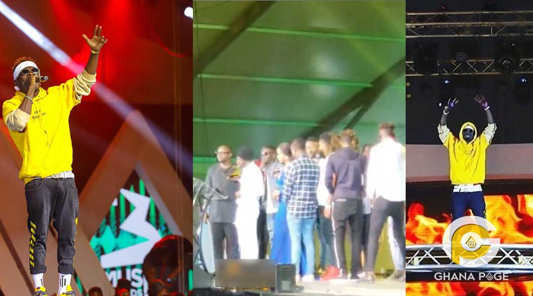 """Shatta Wale cry - #3Music Awards: Shatta Wale shed tears after winning """"Video of the year"""""""