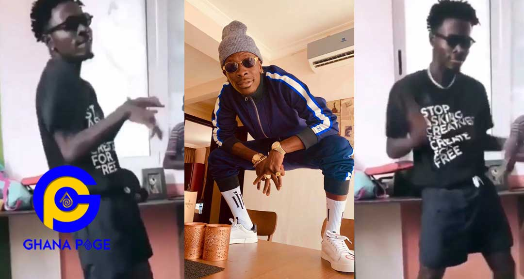 Shatta Wale lookalike - Watch: Video of Shatta Wale's lookalike pops up online