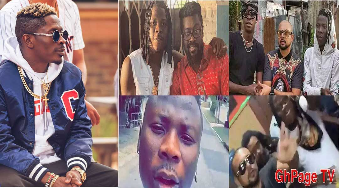 Shatta Wale - Stonebwoy only flies to Jamaica to take pictures with the top stars – Shatta Wale