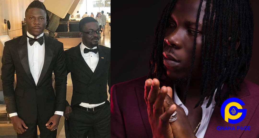 Stonebwoy NAM1 - NAM1 showers praises only Stonebwoy among the Zylofon artists
