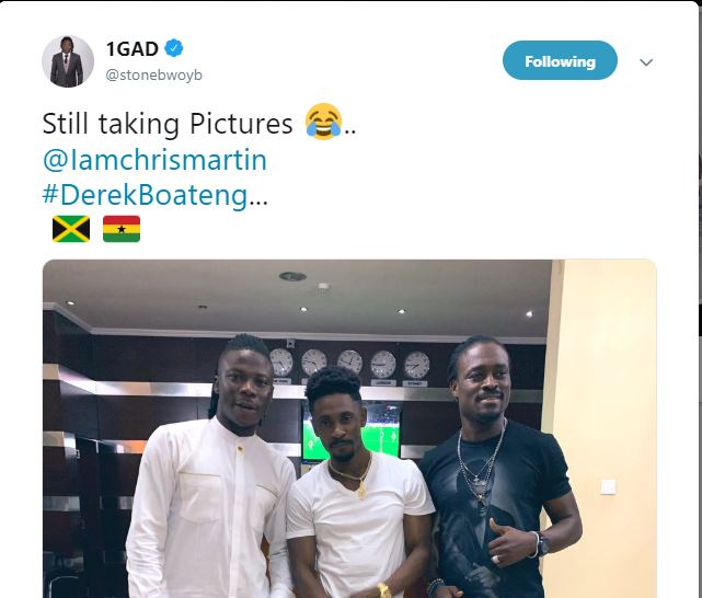 Stonebwoy Shatta Wale - Stonebwoy shares picture with Christopher Martin to troll Shatta Wale