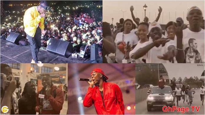 Stonebwoy gets heroic welcome in the Gambia,performs to thousands of fans at Ecofest 2019