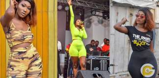 Wendy Shay suffers wardrobe malfunction on stage