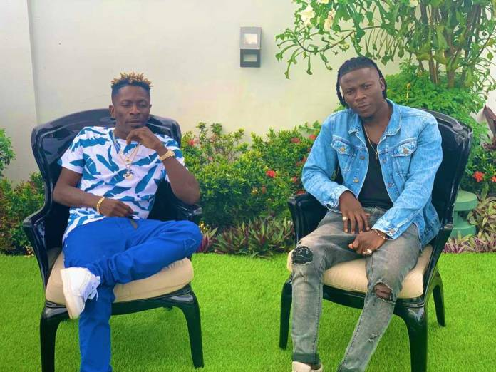 """The wise shall inherit glory""~Stonebwoy reacts to making peace with Shatta Wale-Here's his message"