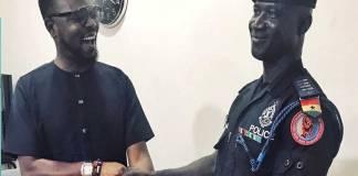 KOD awards selfless police man