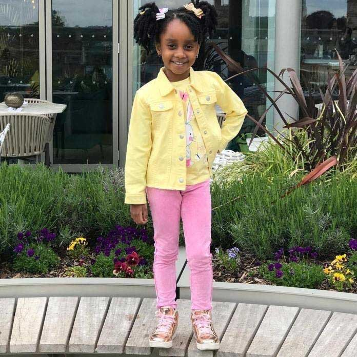Asamoah Gyan's Daughter As Celebrates Her 5th B'day Today