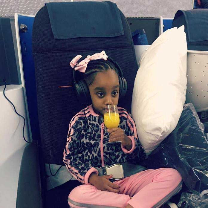 Beautiful Photos Of Asamoah Gyan's Daughter As She Celebrates Her 5th B'day Today 3