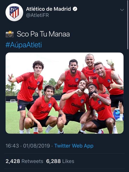 Patapaa's 'Scopatumana' Makes It To Atletico Madrid 2