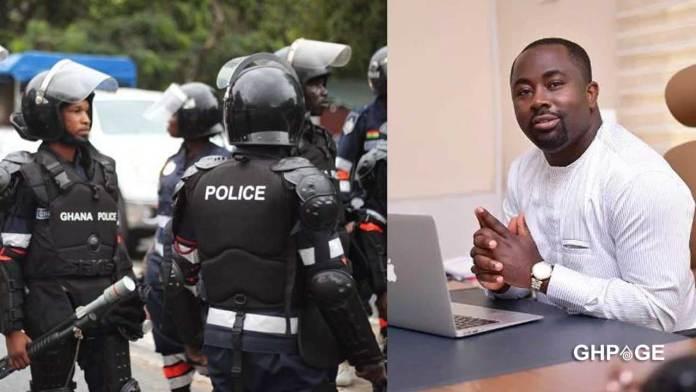 Ghana Police-Business man