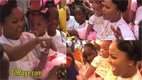 First videos drop as Mcbrown celebrates Baby Maxin's birthday at Ashan children's home