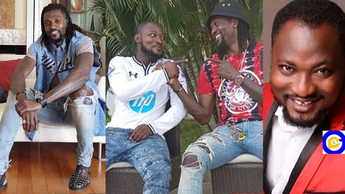 Adebayor-dashed-Funny-Face-another-car-after-asking-he-picks-any-of-his-expensive-cars