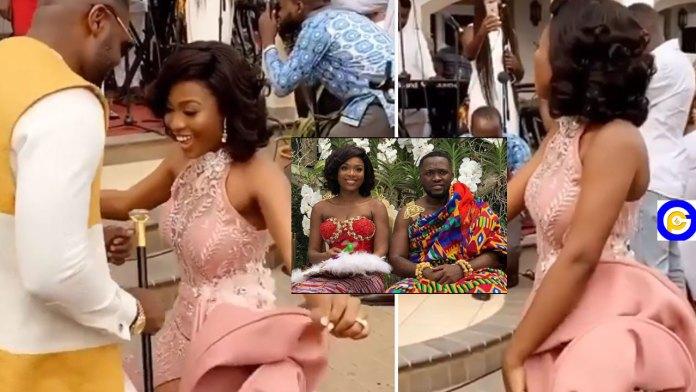 Kennedy-Osei's-pretty-wife,-Tracy-shakes-social-media-as-she-dances-to-Atta-Adwoa-Video