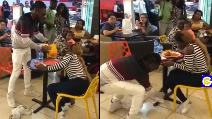 Man-disgraces-girlfriend-at-the-restaurant-after-she-turned-down-his-proposal