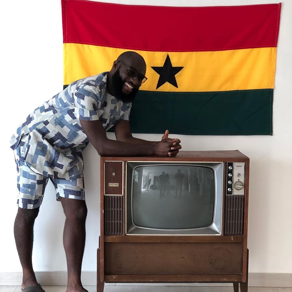 Kennedy Agyapong's first son 7