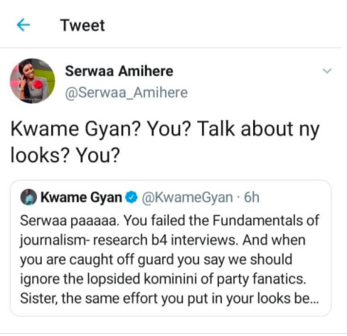 Serwaa Amihere attacks Kwame Gyan for talking about her looks 1