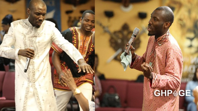 Video of the Ghanaian preacher who killed his wife prophecying surfaces