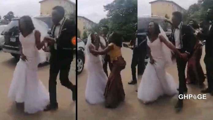 Bride flees from wedding