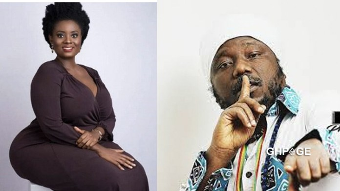 Victoria Hamah hits back at Blakk Rasta again; calls for his ban on radio