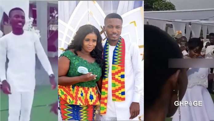 White wedding between Clemento Suarez and his girlfriend held in Accra