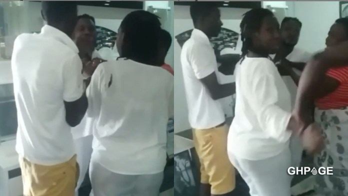 Funny Face releases video of his baby mama beating him