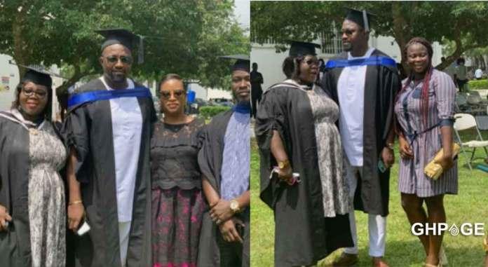 John Dumelo graduates GIMPA