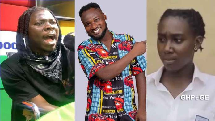Stonebwoy finally reacts to Funny Face and baby mama relationship issues