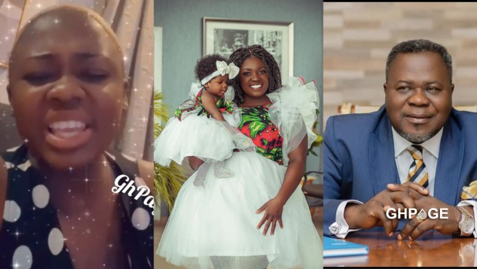 Tracey Boakye fights back at mysterious lady claiming Dr Kwaku Oteng is the father of her daughter