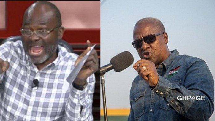 Mahama should try and see what will happen - Kennedy Agyapong warns