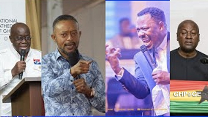 Owusu Bempah and Nigel Gaisie trade blows on live radio ahead of the 2020 elections