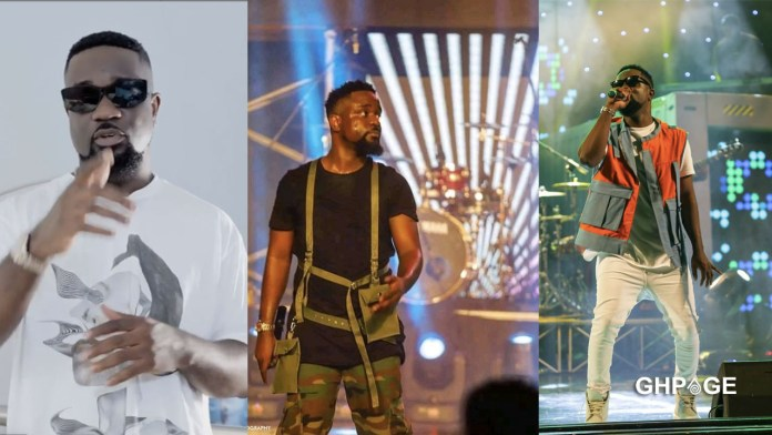 Front seat row of Sarkodie's Rapperholic concert almost sold out