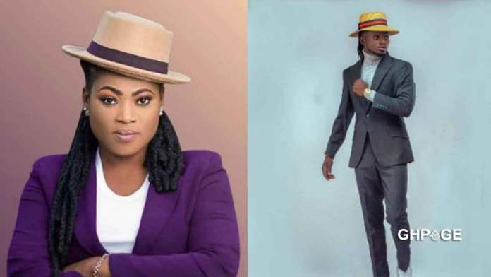 Kuami Eugene trolled on Twitter for looking like Joyce Blessing in new photos shared online