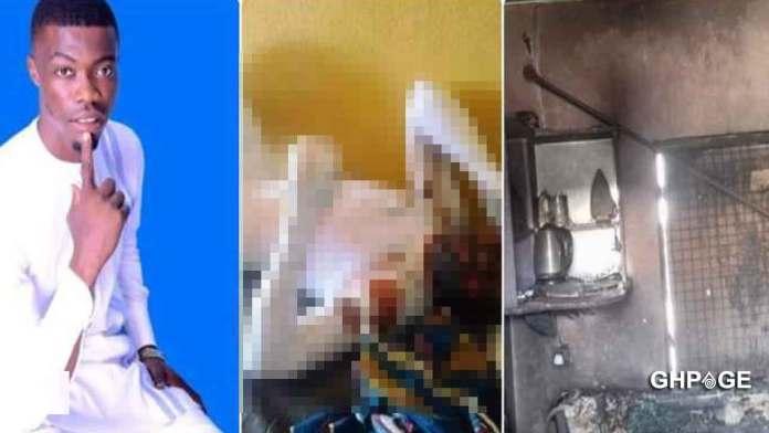 Lady, 18, sets boyfriend ablaze after a heated argument