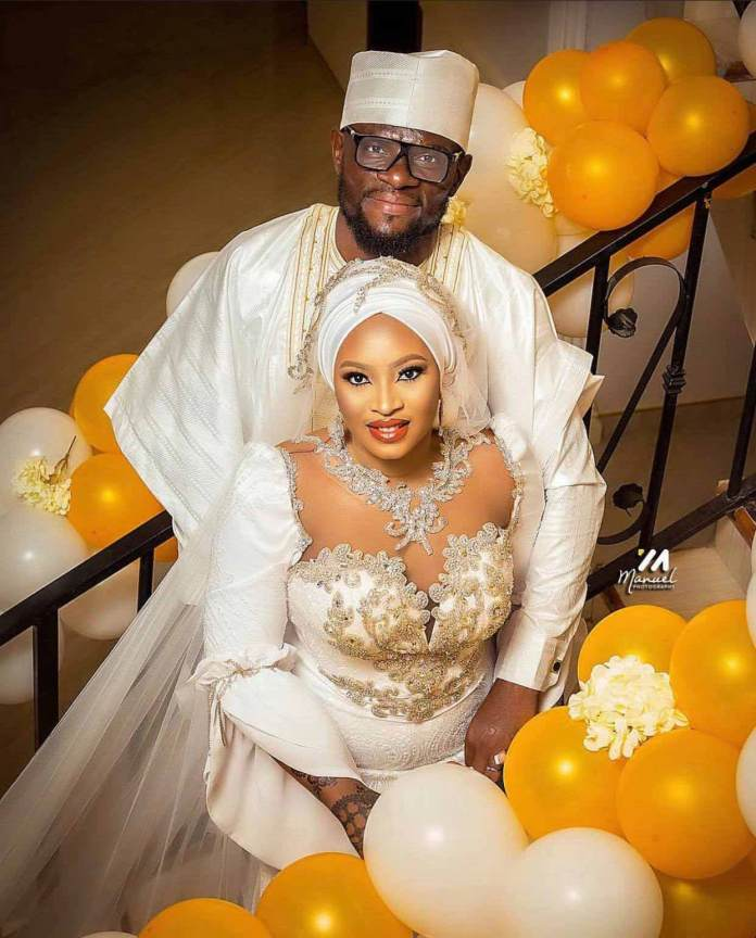 Fatawu Dauda and his wife Failatu Alhassan