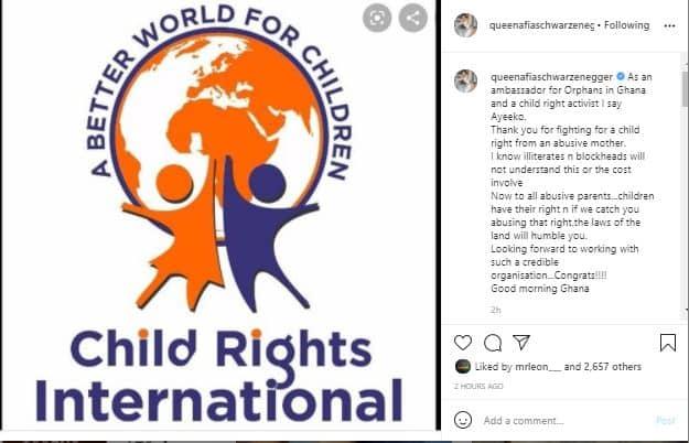Afia Schwar's post