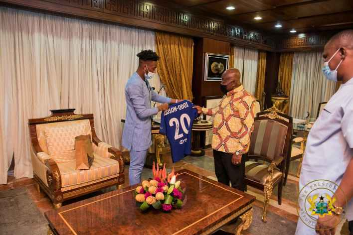 Nana Akufo-Addo urges Sports Minister to convince Hudson-Odoi to play for Black Stars 2