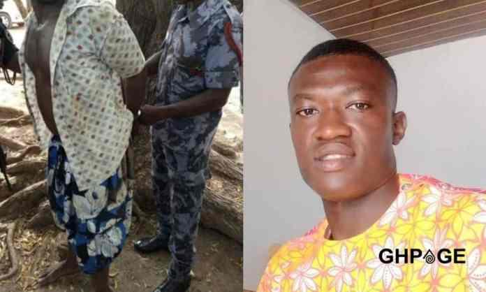 police arrest Richard Gyamfi