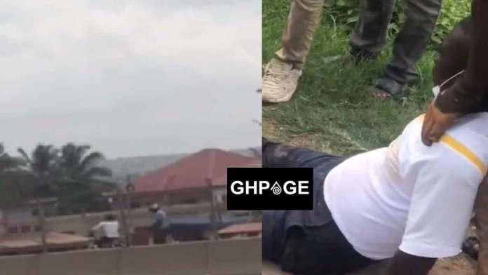 Robbery attack at kwashieman