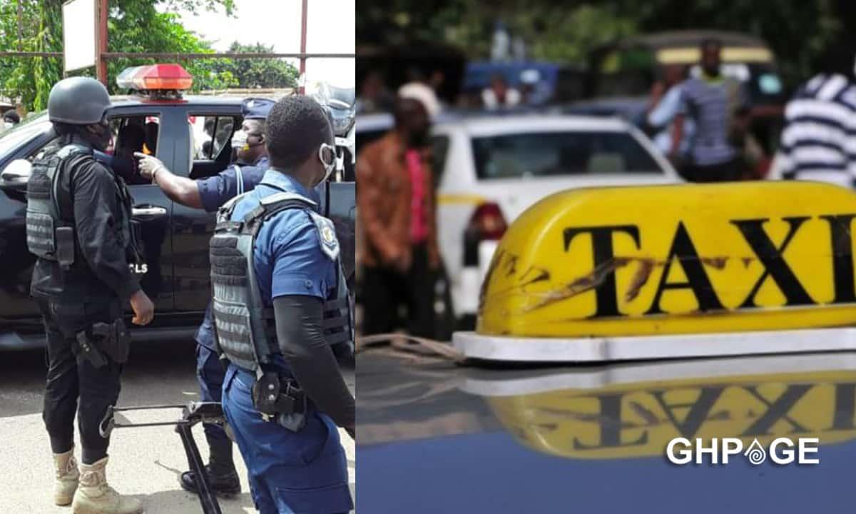 police arrest taxi driver