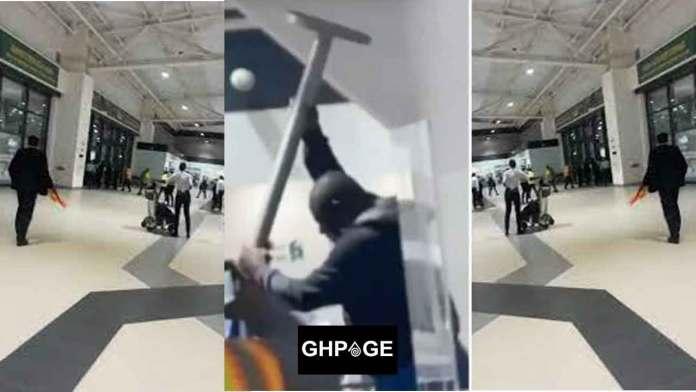 Man runs mad at Kotoka Airport