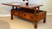 Walnut Coffee Table (Lift Up Storage) | GHShaw Ltd