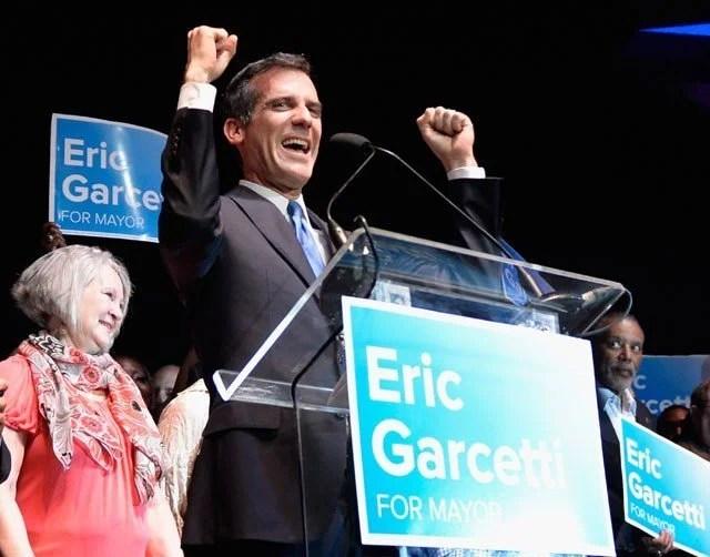 Eric Garcetti Wins Mayor Race, Pot Shop Limit Passes