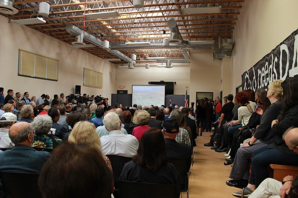 """Hundreds Attend the """"Resilience By Design"""" Community Meeting"""