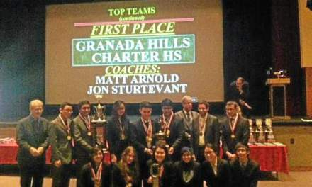 Granada Hills Charter High Sets Academic Decathlon Record